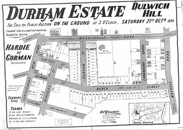 1894 Durham Estate Dulwhich Hill Canterb