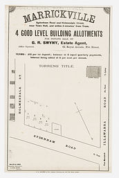 1878 (c.) Marrickville, 4 good level bui