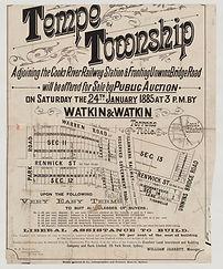 1885 Tempe township - Warren Rd, Park Rd