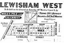 1892 Lewisham West Lewisham Road, Deniso