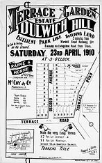 1910 Terrace Garden Estate Dulwich Hill