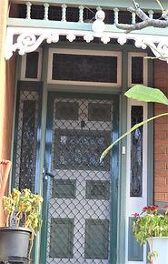 No 1 Grove Street Front Door Panels, Sid