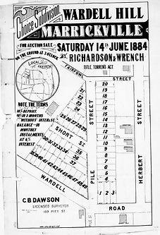 1884 Wardell Hill Marrickville Fairfowl,