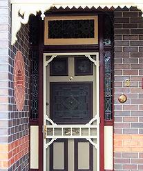 No 3 Ross Street Front Door Panel,Sideli