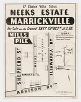 1886 Meeks Estate, Marrickville - Shephe