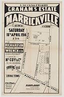 1914 Graham's Estate, Marrickville - Mar