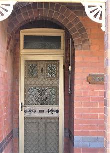 No 26 Moncur Street Front Door Panels.JP