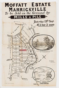 1884 Moffatt Estate, Marrickville - Terr