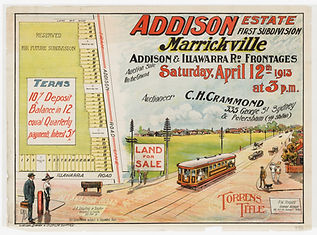 1913, Addison Estate, Marrickville - Add