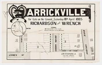1885 Marrickville - James St, Surry St,
