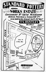 1902 Standard Pottery Works Estate Cante