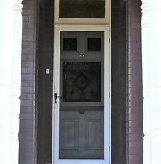 No 95 Wardell Road Front Door Panels and