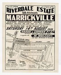 1920 Riverdale Estate, Marrickville - Ar