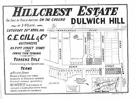 1902 Hillcrest Estate, Beach Street, War