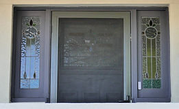 No 1 Chapman Street Front Door Panel & S