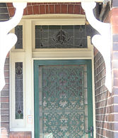 No 2 Porter Avenue Front Door Panel, Sid