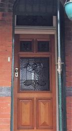 No 9 Bedford Crescent Front Door Panels