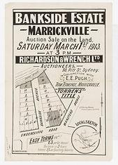 1913 Bankside Estate, Marrickville - Und