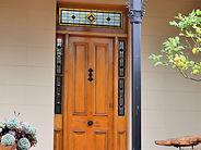 No 10 Gower Street Verandah Door Sidelig