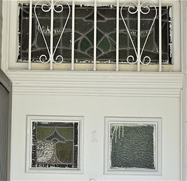 No 1 Fernbank Street Front Door Panel an