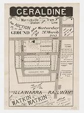 1885 Geraldine between Marrickville Stat