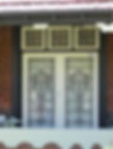No 10 Herbert Street Double Doors and tr