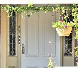 No 4 Teakle Street Front Door Sidelights