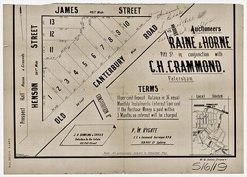 1913  St Andrews Estate - Henson Street,