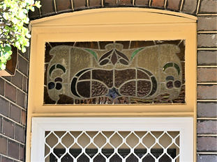 No 8 Kays Avenue West Fanlight above Fro