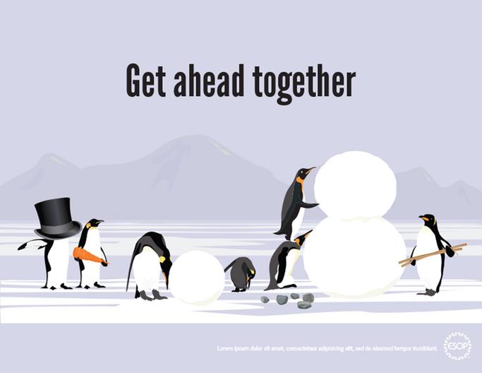 ESOP Penguin poster