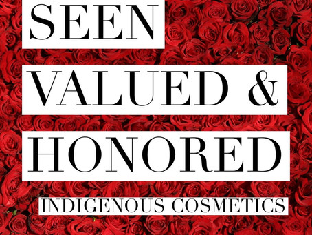 See us, value us, and honor us.