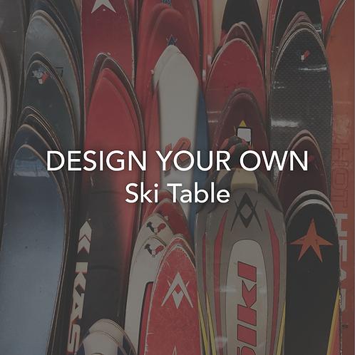 Custom Ski Table