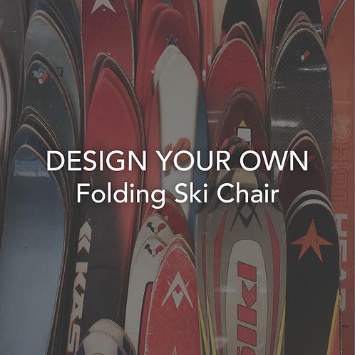 Custom Folding Ski Chair