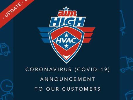 Coronavirus Update: We Are Open!