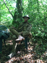Our World War between takes.JPG