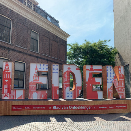 LEIDEN - city sign