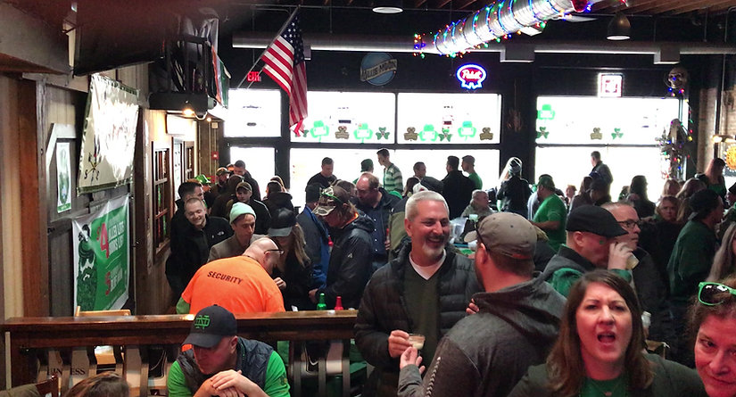 St. Patrick Day at Alley 64