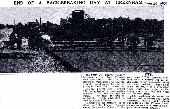 Greenham Common runway