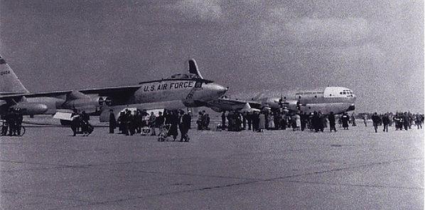 Greenham Common B-47 & KC-97