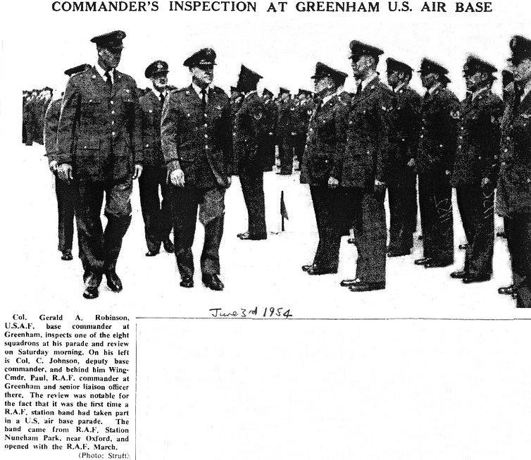 Greenham Common inspection