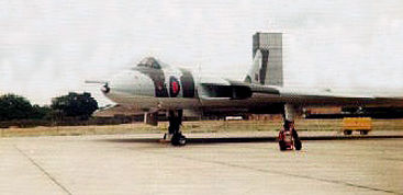 RAF Vulcan at Greenham Common