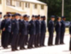 Airmen at RAF Welford