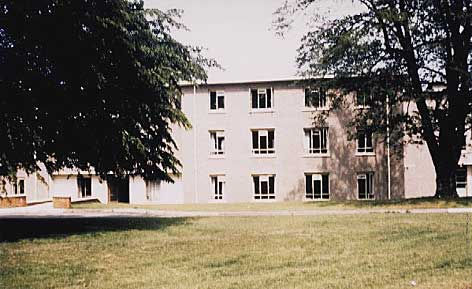 USAF Officer barracks at Greenham Common 1956
