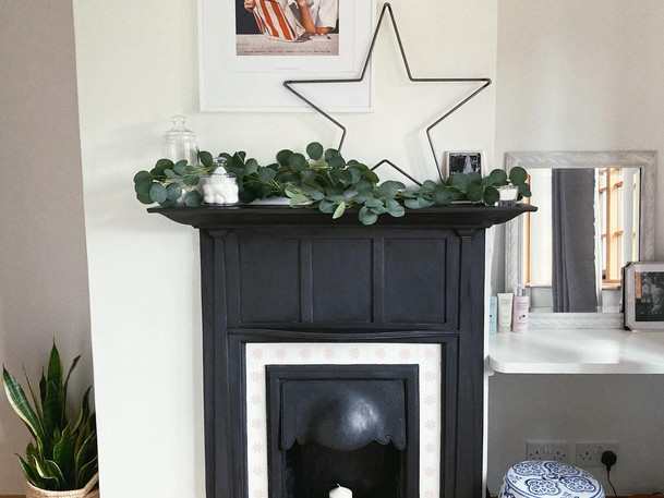 Restoring and Stencilling a Fireplace