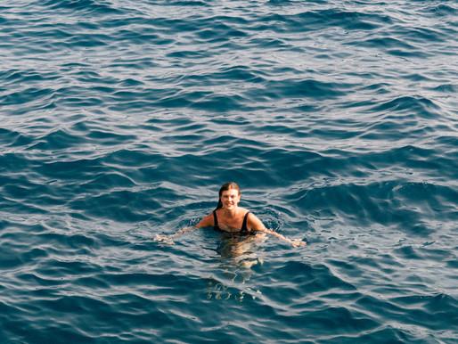 Swimming at Buza