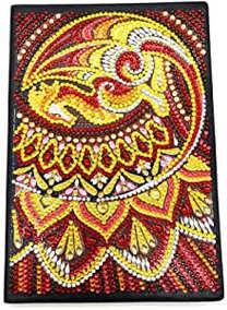 Carnet en cuir 21x15 cm (Dragon de Feu)