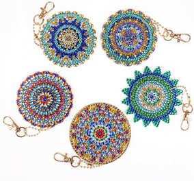 "Bijoux ""Mandalas"" (décorés recto-verso)"