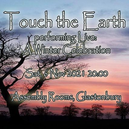 Nov '21 Glastonbury Eventbrite flyer cop