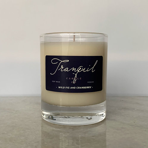 Wild Fig and Cranberry Candle