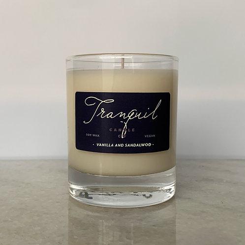 Vanilla and Sandalwood Candle